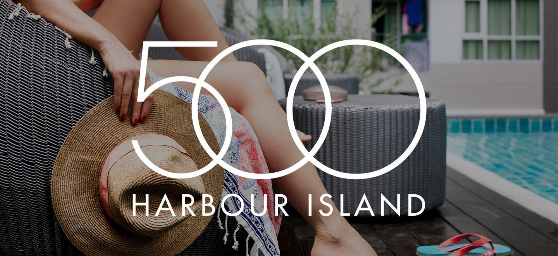500 Harbour Island Branding